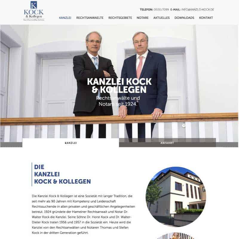 Werbeagentur Hameln - Kanzlei Kock
