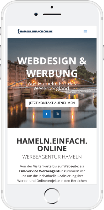 Phone Webdesign Hameln
