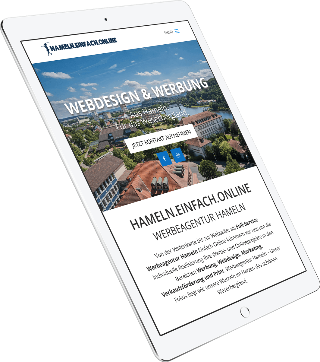 Responsive Webdesign Hameln