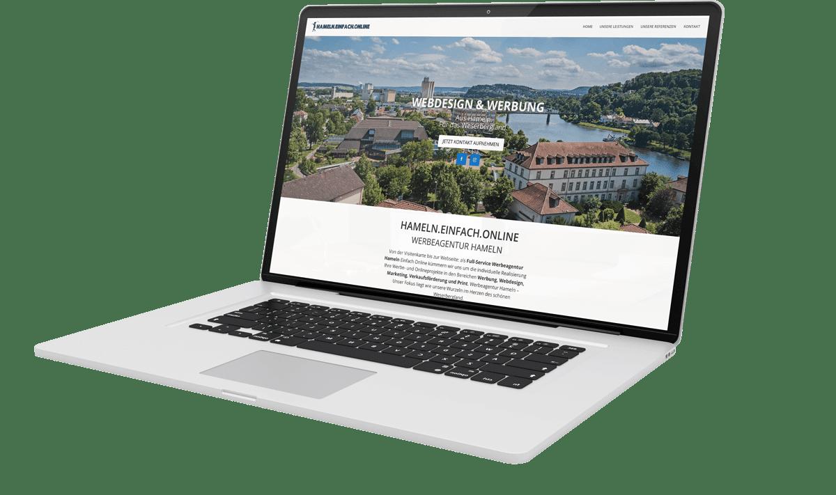 Desktop Webdesign Hameln
